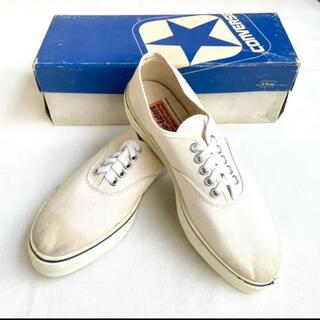 "CONVERSE - 70's Deadstock Converse(コンバース)""NAUT1"" 青箱"