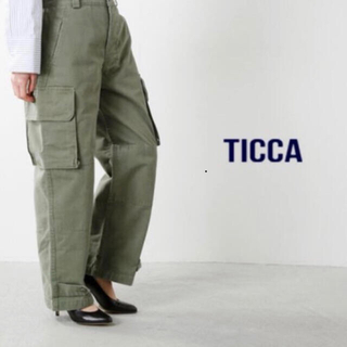 DEUXIEME CLASSE - ティッカ TICCA. カーゴパンツ サイズ0