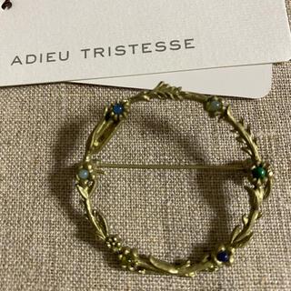 アデュートリステス(ADIEU TRISTESSE)のサークルブローチ (ブローチ/コサージュ)