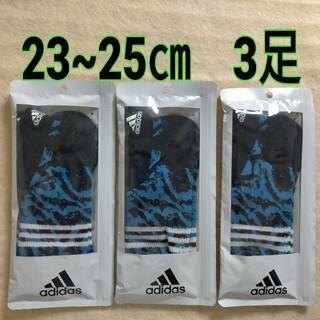 アディダス(adidas)の靴下 ソック レディース アディダス スニーカー丈 23~25cm(ソックス)