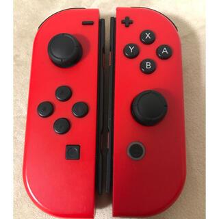 Nintendo Switch - Switch ジョイコン マリオレッドカラー