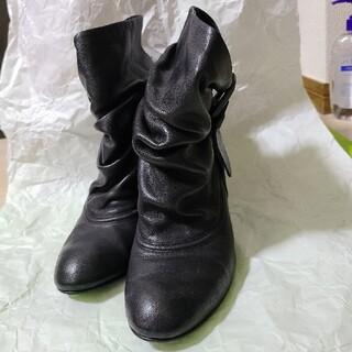 ツモリチサト(TSUMORI CHISATO)の【TSUMORI CHISATO】黒ブーツ(ブーツ)
