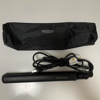 SALONIA ストレートヘアアイロン 24mm ブラック