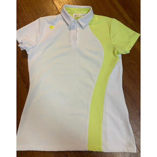 DESCENTE - デサントゴルフ ポロシャツ