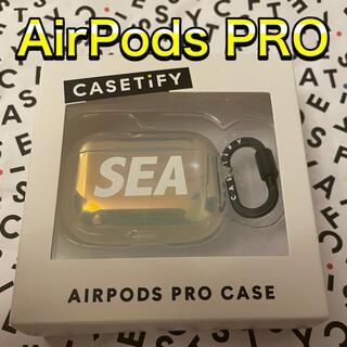 アイフォーン(iPhone)のCASETIFY AirPods Pro Case wind and sea (その他)