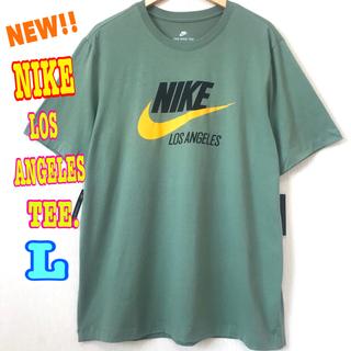 ナイキ(NIKE)のUSモデル ♪ ナイキ ロサンゼルス スウォッシュ ロゴTシャツ ユニセックス(Tシャツ/カットソー(半袖/袖なし))