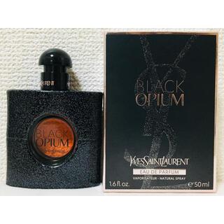 Yves Saint Laurent Beaute - イヴサンローラン ブラックオピウム オーデパルファム 50ml 【ほぼ未使用】