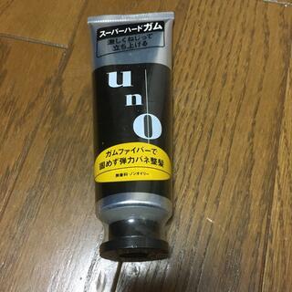 ウーノ(UNO)の【送料無料】uno  スーパーハードガム 120g(ヘアワックス/ヘアクリーム)