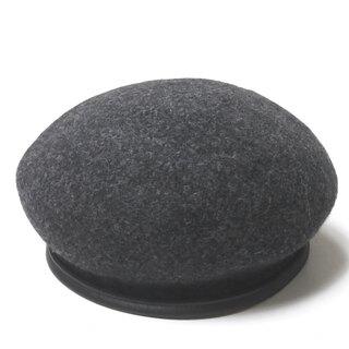 エヌハリウッド(N.HOOLYWOOD)のN.HOOLYWOOD ウールベレー 122-AC10 pieces ベレー帽(ハンチング/ベレー帽)