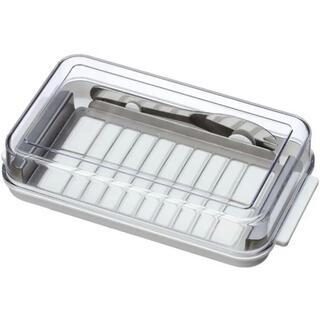 ステンレスカッター式 バターケース バターナイフ付(容器)