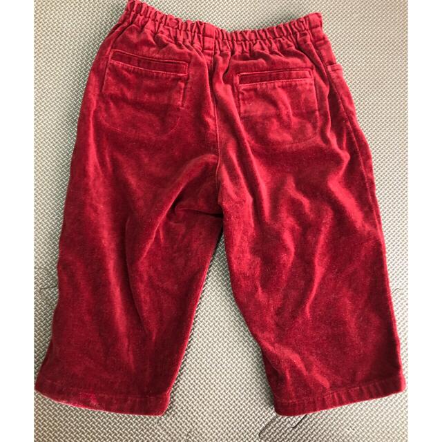 familiar(ファミリア)のファミリア男の子ロンT2枚、Tシャツ1枚とズボンセット80 キッズ/ベビー/マタニティのベビー服(~85cm)(Tシャツ)の商品写真