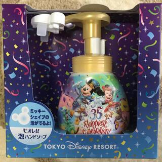 ディズニー(Disney)のミッキーシェイプ 泡ハンドソープボトル(ボディソープ/石鹸)