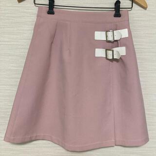 アンクルージュ(Ank Rouge)のAnkRouge アンクルージュ台形スカート 膝丈 M(ひざ丈スカート)