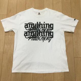 ダブルタップス(W)taps)のWTAPS × anything(Tシャツ/カットソー(半袖/袖なし))