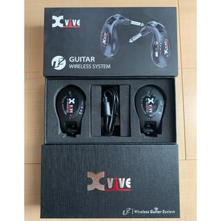 【新品未使用】XVIVE エックスバイブ ワイヤレス・ギターシステム XV-U2(シールド/ケーブル)