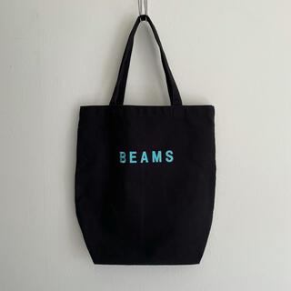 BEAMS - 【美品】  BEAMS ビームス コットンキャンバス トートバッグ ロゴ 刺繍