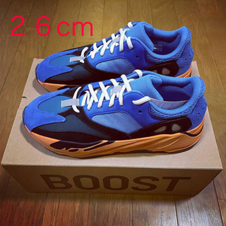 アディダス(adidas)の【26cm】ADIDAS YEEZY BOOST 700 BRIGHT BLUE(スニーカー)