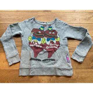 グラグラ(GrandGround)のGRANDGROUNDグラグラ 春秋トレーナー 120 男の子 女の子 JAM(Tシャツ/カットソー)