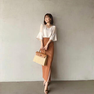 Noble - NOBLE トタンテレコタイトスカート 中村麻美