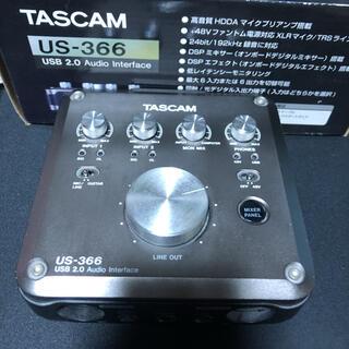 TASCAM US-366(オーディオインターフェイス)