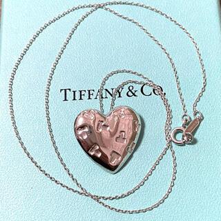 Tiffany & Co. - ティファニー T ハート ネックレス スターリングシルバー925
