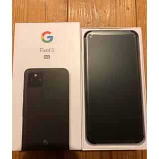 グーグル(Google)のGoogle Pixel5 SIMロック解除済(スマートフォン本体)