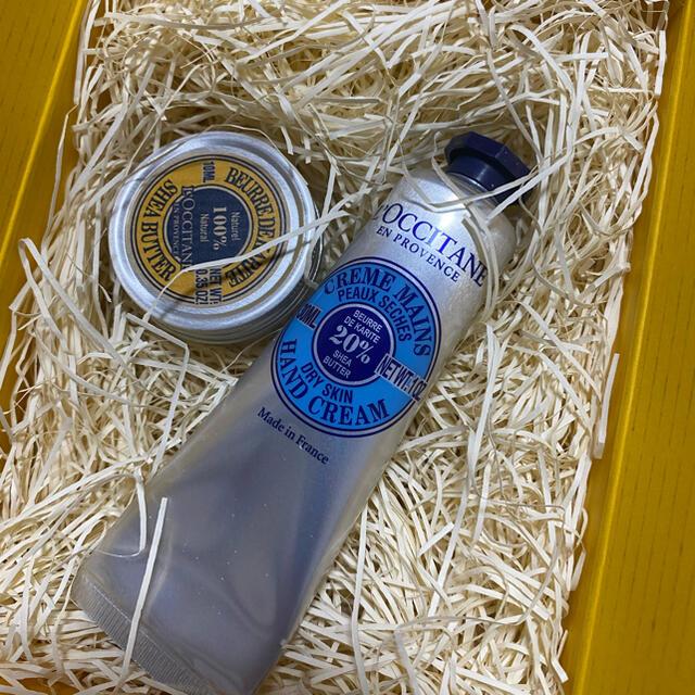 L'OCCITANE(ロクシタン)のロクシタン(L'L'OCCITANE シア ハンドクリーム&シアバター セット コスメ/美容のボディケア(ハンドクリーム)の商品写真