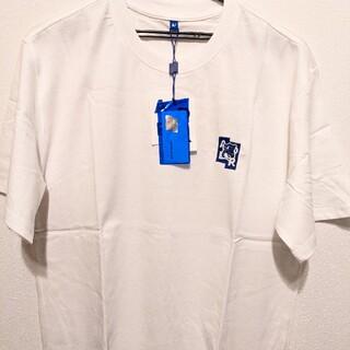 MAISON KITSUNE' - 新品 メゾンキツネアダーエラー コラボ Tシャツ