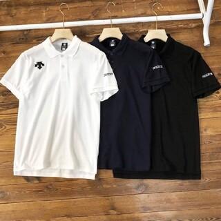 デサント(DESCENTE)のDESCENTEディサント男子半袖ポロシャツ (Tシャツ/カットソー(半袖/袖なし))