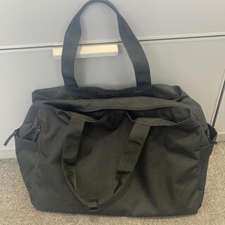 ムジルシリョウヒン(MUJI (無印良品))の無印良品 良品計画 ブラック ボストンバッグ キャリーオン スーツケース  撥水(ボストンバッグ)