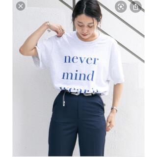 フーズフーギャラリー(WHO'S WHO gallery)のNEVERMIND ビッグシルエットTEE(Tシャツ(半袖/袖なし))