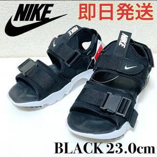 NIKE - NIKE ナイキ キャニオンサンダル レディース 23cm 新品 黒