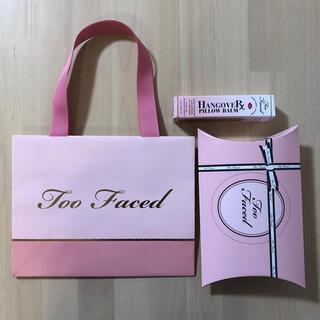 Too Faced - トゥー フェイスド ハングオーバー ピローバーム リップ トリートメント