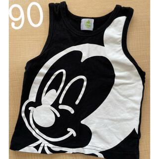 Disney - 【ディズニー】ミッキー タンクトップ 90