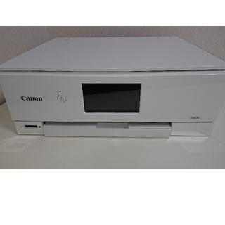 【ほぼ未使用】Canon PIXUS TS8230WH プリンター