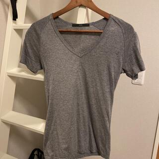 エイケイエム(AKM)のAKM  VネックTシャツ サイズS 1piu1uguale3 wjk(Tシャツ/カットソー(半袖/袖なし))