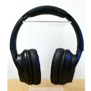 オーディオテクニカ(audio-technica)の美品・付属品完備【オーディオテクニカ】ATH-DWL550 ワイヤレスヘッドホン(ヘッドフォン/イヤフォン)