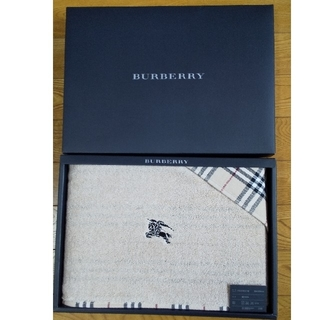 BURBERRY - 日本製 新品・未使用 バーバリー バスタオル