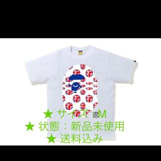 アベイシングエイプ(A BATHING APE)のBAPE STORE LONDON UNION JACK TEE(Tシャツ/カットソー(半袖/袖なし))