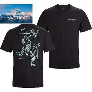 アークテリクス(ARC'TERYX)の新品☆アークテリクス Tシャツ 半袖 ☆ブラック☆Mサイズ(Tシャツ/カットソー(半袖/袖なし))