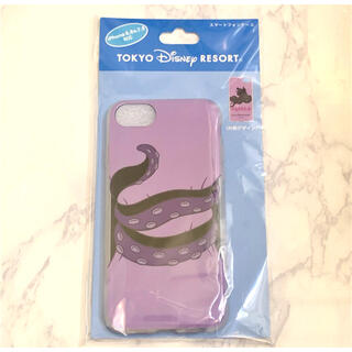 ディズニー(Disney)の[新品未開封]アースラ♡iPhoneケース(6/6s/7/8対応)(iPhoneケース)