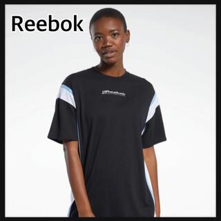 リーボック(Reebok)の新品.タグ付 リーボック オーバーサイズ Tシャツ Reebok M 黒 (Tシャツ(半袖/袖なし))