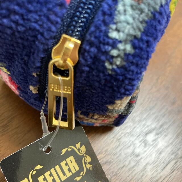 FEILER(フェイラー)のフェイラー フェザー ポーチ 羽 未使用 レディースのファッション小物(ポーチ)の商品写真