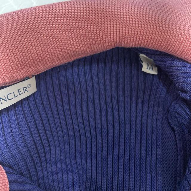 MONCLER(モンクレール)のMONCLER 'O' CHEST POCKET POLO レディースのトップス(カットソー(半袖/袖なし))の商品写真