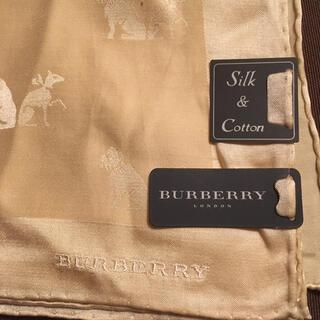 BURBERRY - バーバリー Burberry ベージュスカーフ 犬猫モチーフ