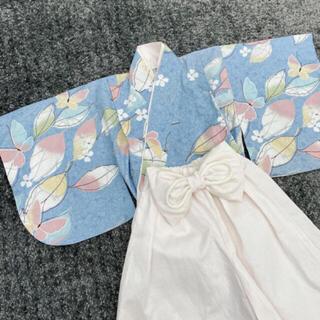 ベビー袴 70-80(和服/着物)