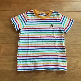 mikihouse - ミキハウス マルチボーダー Tシャツ キッズ100