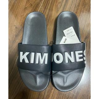 ジーユー(GU)のgu × KIM JONES キム ジョーンズ サンダル(サンダル)