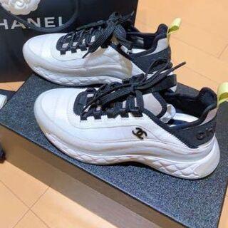 CHANEL - chanelシャネル 大人気スニーカー   37
