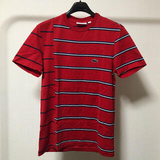 ラコステ(LACOSTE)のラコステ LACOSTE 「Made in France」ボーダーTシャツ(Tシャツ/カットソー(半袖/袖なし))